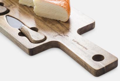 Stora ostbrickor & -bestick från Selected by Leif Mannerström