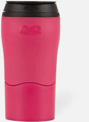 Magenta Mighty mug med smartgrip - med reklamtryck