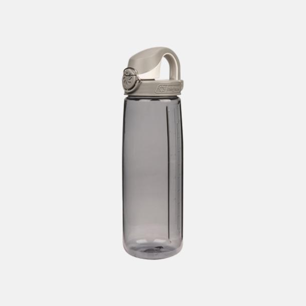 Grå Enhandsvänlig vattenflaska