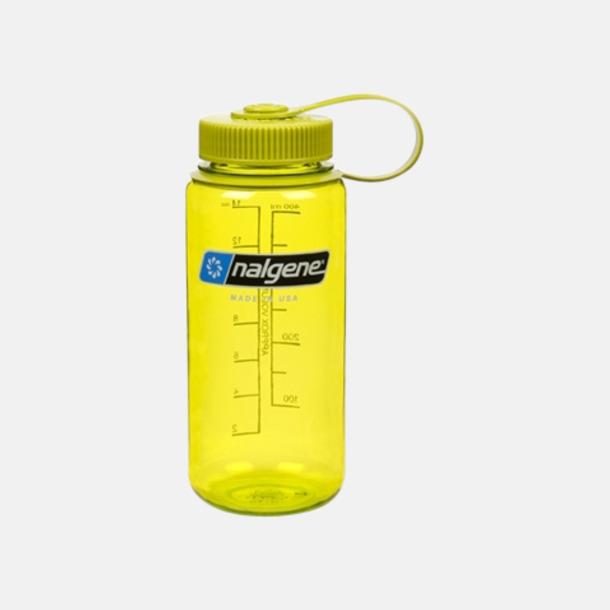 Ljusgrön/Ljusgrön (0,5 l) Färgglada vattenflaskor med eget tryck