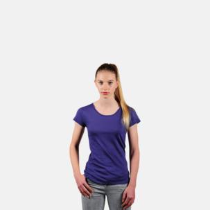 Eko dam t-shirts i Fairtrade-bomull med reklamtryck