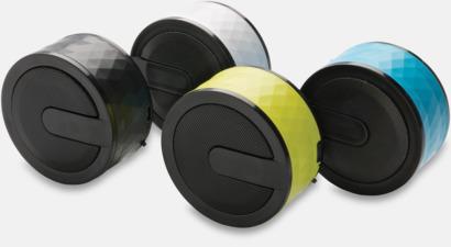 Puckformade högtalare med reklamtryck