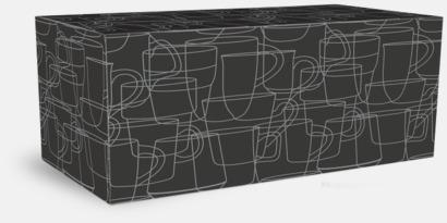 Presentkartong 4-pack Megara kaffemugg med reklamtryck
