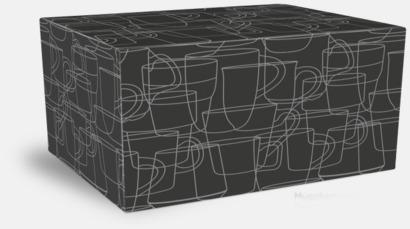 Presentask 2-pack Fina kaffemuggar med reklamtryck