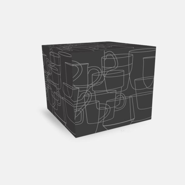 Kartong 1-pack Kaffemuggar med kantiga öron - med reklamtryck