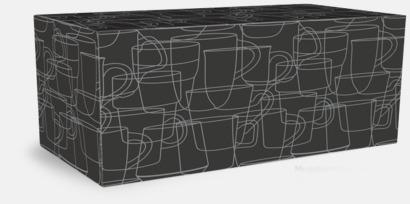 Kartong 4-pack Kaffemuggar med kantiga öron - med reklamtryck