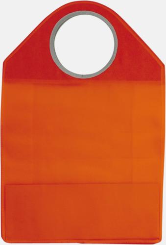 Stora non woven-väskor med runda handtag - med reklamtryck