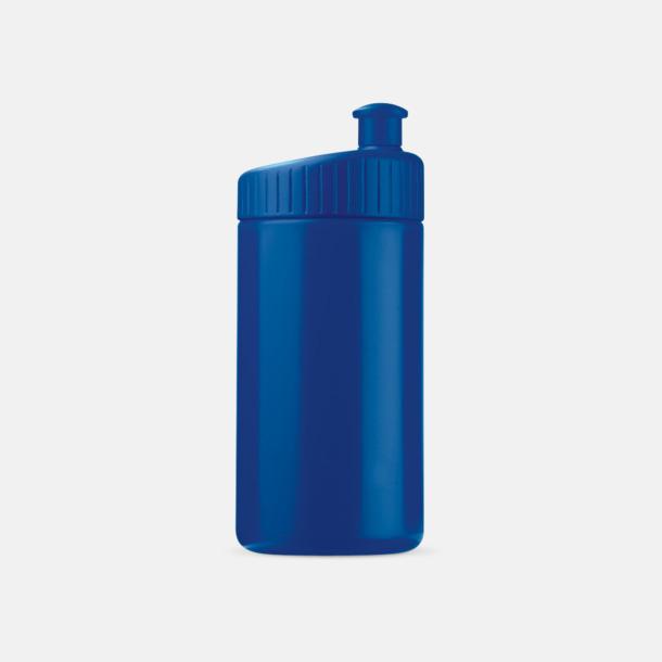 Mörkblå (50 cl) Vattenflaskor i 2 storlekar med reklamtryck