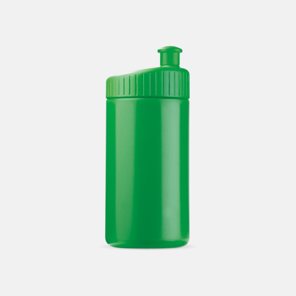 Grön (50 cl) Vattenflaskor i 2 storlekar med reklamtryck