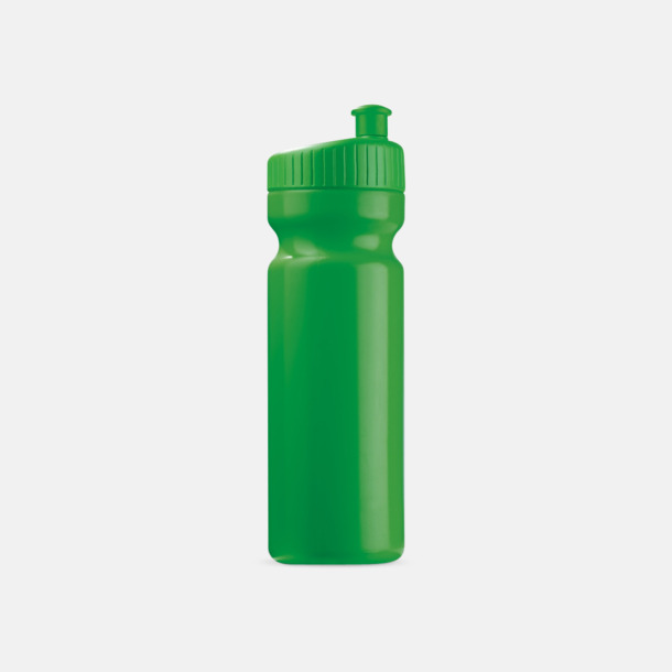 Grön (75 cl) Vattenflaskor i 2 storlekar med reklamtryck