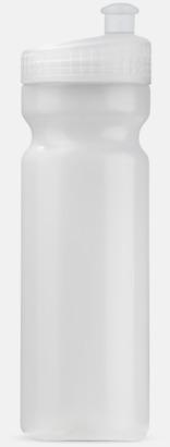 Transparent (75 cl) Vattenflaskor i 2 storlekar med reklamtryck