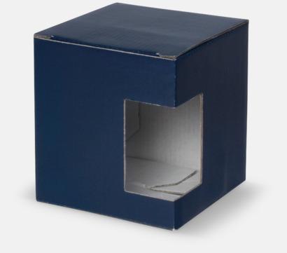 1-pack (blå) Billiga porslinskoppar med reklamtryck