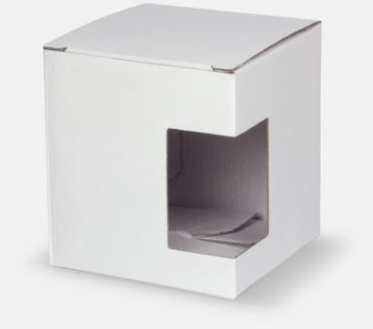 1-pack (vit) Billiga porslinskoppar med reklamtryck