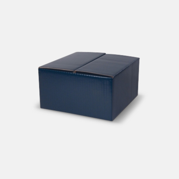4-pack (blå) Billiga porslinskoppar med reklamtryck