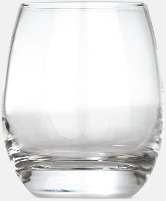 Transparent Glas för alla tillfällen - med reklamtryck