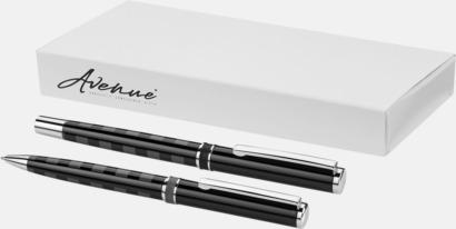 Presentförpackning Rutigt pennset med reklamtryck