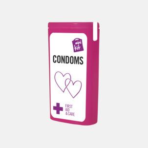 MiniKit kondomer i ask med egen logga