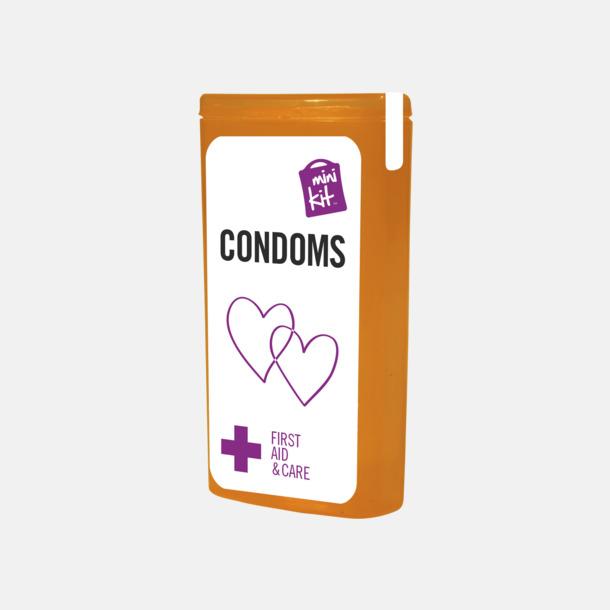 Innehåll MiniKit kondomer i ask med egen logga