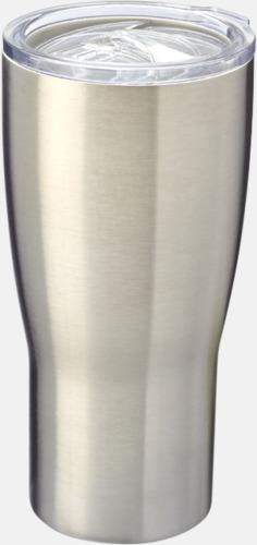 Silver Designade termosmuggar med reklamtryck