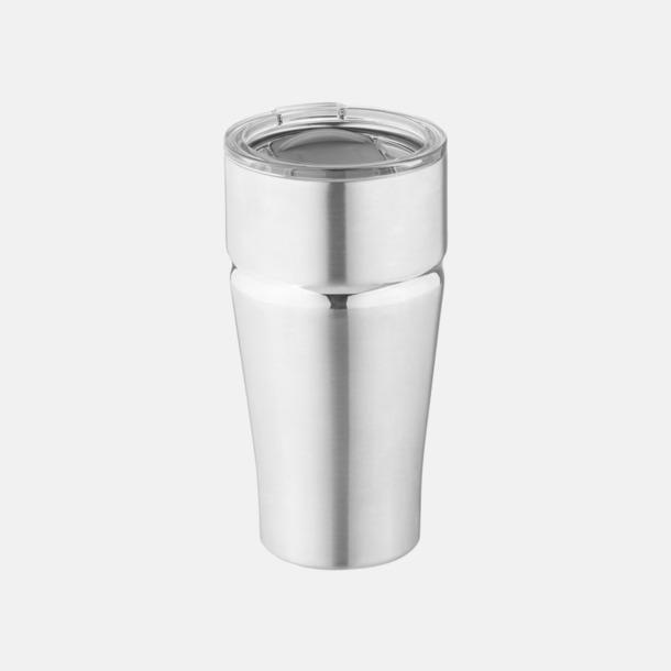 Silver Vakuumisolerande kopparmuggar med reklamtryck