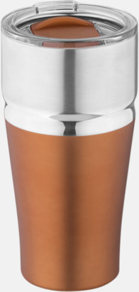 Koppar Vakuumisolerande kopparmuggar med reklamtryck