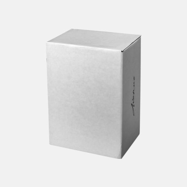 Presentförpackning 47,5 cl termosmugg med trähandtag - med reklamtryck