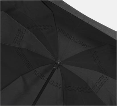 Vändbara paraplyer med reklamtryck