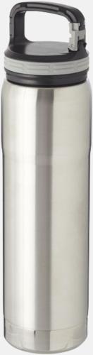 Silver Kopparvakuumflaska med keramikteknik med reklamtryck