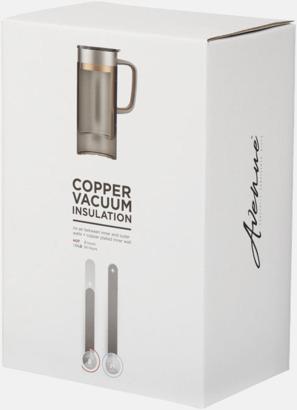 Presentförpackning Kork kopparvakuumisolerad muggar med reklamtryck