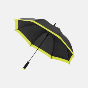 Automatiska paraplyer med färgrand med reklamtryck