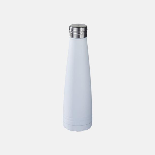 Vit Kopparvakuumisolderade flaskor med reklamtryck