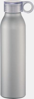 Silver 65 cl-vattenflaskor med reklamtryck
