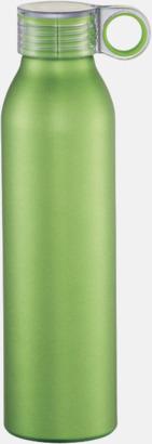 Limegrön 65 cl-vattenflaskor med reklamtryck