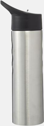 Vattenflaska med drickpip - med reklamtryck