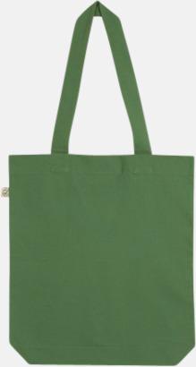 Leaf Green Ekologiska tygpåsar i ekologiskt bomull
