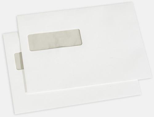Pure C5V2 Exklusiva kuvert med reklamtryck