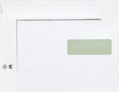 C5H2 remsa Miljövänliga kuvert i flera storlekar och val med reklamtryck