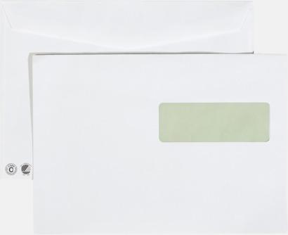 C5H2 fukthäftande Miljövänliga kuvert i flera storlekar och val med reklamtryck