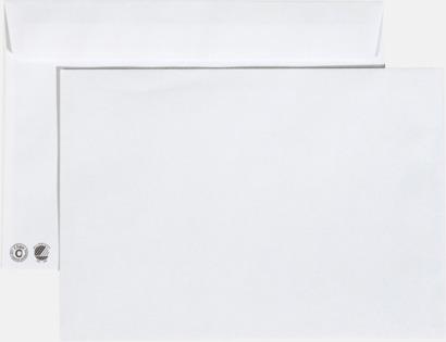 C5 remsa Miljövänliga kuvert i flera storlekar och val med reklamtryck