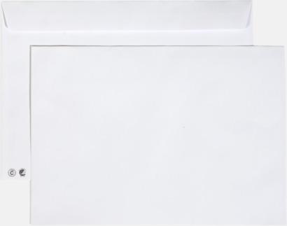 C4 remsa Miljövänliga kuvert i flera storlekar och val med reklamtryck