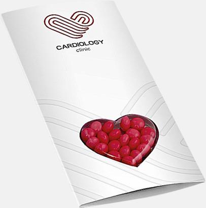 Hjärta digitaltryck Förpackade godistabletter med eget tryck