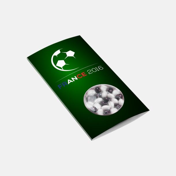 Fotboll digitaltryck Förpackade godistabletter med eget tryck