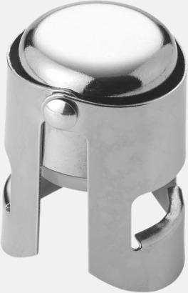 Silver Flaskförslutare med reklamtryck