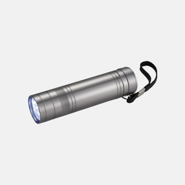 Silver Flasköppnare med ficklampa med reklamtryck
