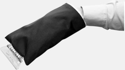 Billiga isskrapor med handskar med reklamtryck