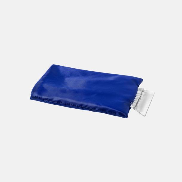 Blå Billiga isskrapor med handskar med reklamtryck