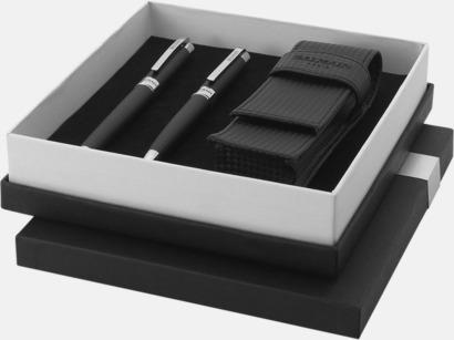 Presentförpackning Fina pennset från Balmain med reklamtryck