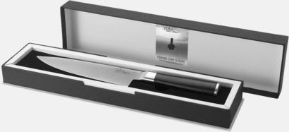 Kockknivar från Paul Bocuse med reklamlogo