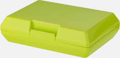 Limegrön Billiga matlådor med reklamtryck