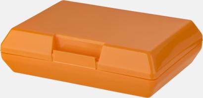 Orange Billiga matlådor med reklamtryck